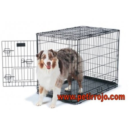Transportín plegable de perros. Deluxe edition kennel. Petmate