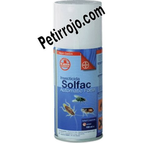 Insecticida Solfac automatic Forte. Bayer
