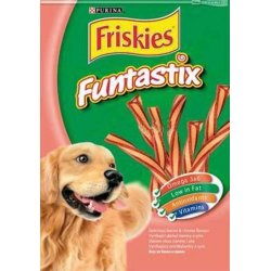 Funtastix Friskies snacks jamón y queso
