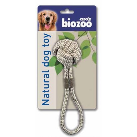Juguete con pelota natrual dog toy - Axis