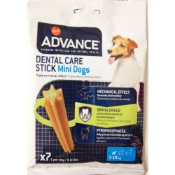 Advance Dental care Sticks Mini 7 uds