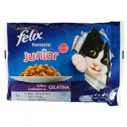 Felix Fantastic Junior 100gr (PURINA)