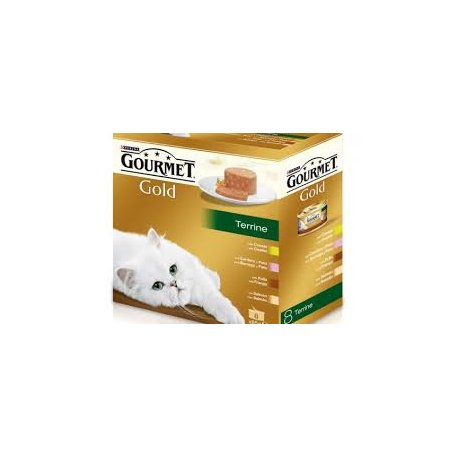 Gourmet Gold pack 8 latas Terrine (Purina)