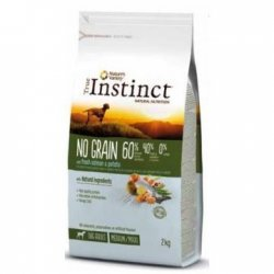 TRUE INSTINCT No Grain 60% Salmon & Patata