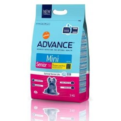Advance perro mini senior